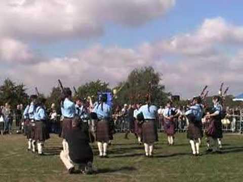 European Pipe Band Championships 2003:  Bucksburn & District