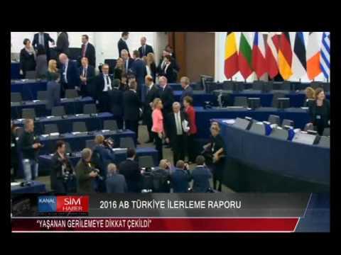 2016 AB TÜRKİYE İLERLEME RAPORU...