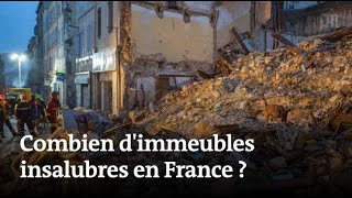 Effondrement d'immeubles: combien delogements insalubres en France?