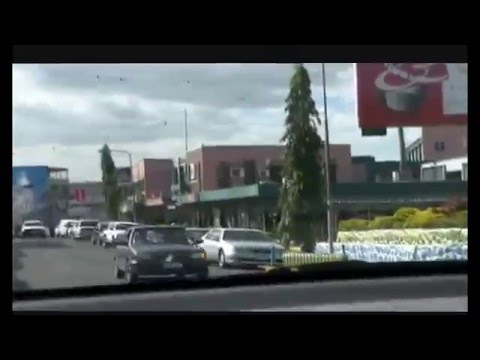 Sightseeing drive through the township of Nadi in the  Fiji Islands