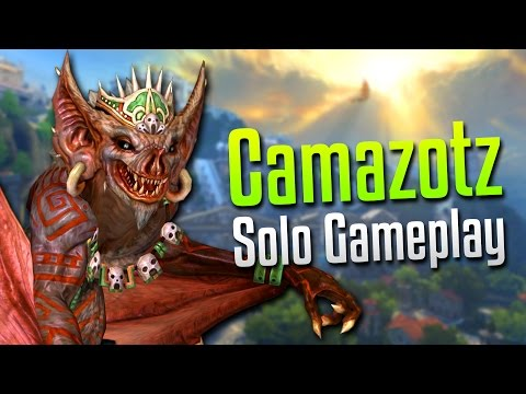 Smite: Relentless Poke!- Camazotz Solo Gameplay