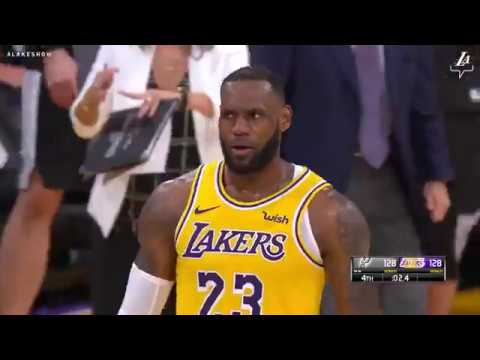 d56615400 HIGHLIGHTS  Lakers vs. Spurs (10 22 18) - YouTube
