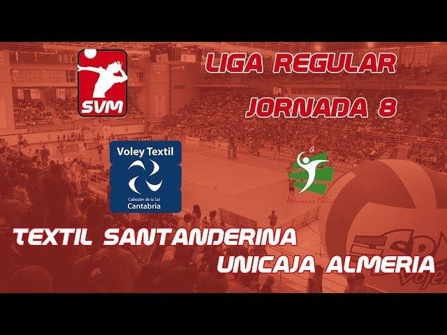 Jornada 8 Textil Santanderina vs Unicaja Almeria