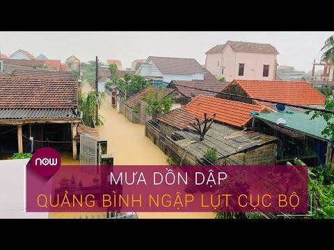 Mưa dồn dập, Quảng Bình ngập lụt cục bộ   VTC Now