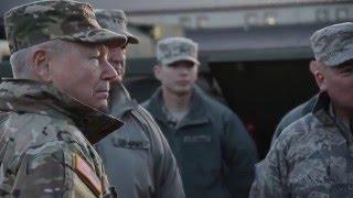 National Guard Bureau Chief, visits Missouri Guardsmen in Wake of Historic Floods
