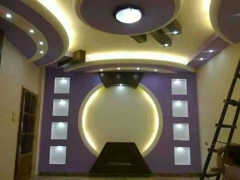 Gypsum Ceiling Designs For Living Room Bedroom(AS Royal Decor)