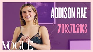 Every Outfit Addison Rae Wears in a Week | 7 Days, 7 Looks