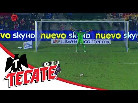 Tanda de penales | Tigres 1 (3) - (0) 1 América |...