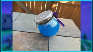 REAL LIFE SHIELD POTION! How To Make A Shield Potion From Fortnite Battle Royale!
