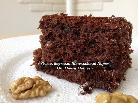 Шоколадный пирог с молоком в мультиварке