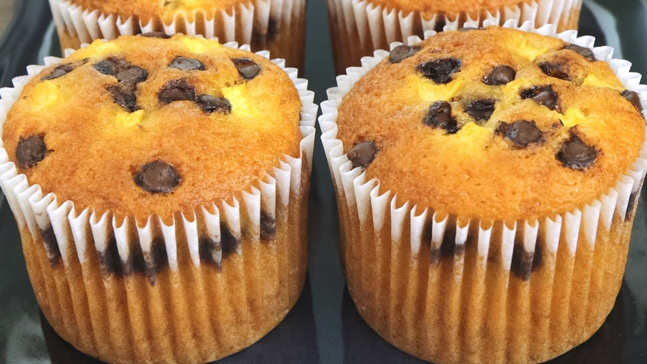 Muffin recipe with One Egg   How to make homemade muffin