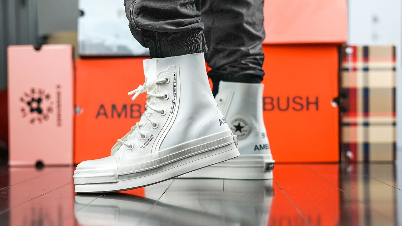 Sneakers For The ELITE ONLY? | Converse X AMBUSH Chuck 70 HI ON FEET REVIEW