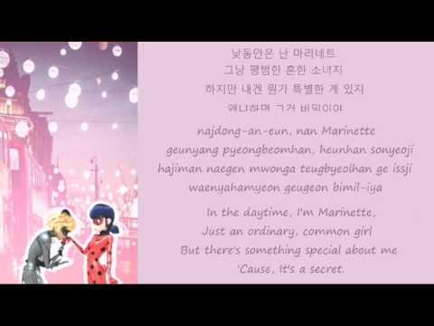 Miraculous Ladybug Korean Song Lyrics [Kor/Rom/Eng]