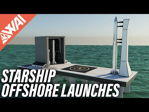 117 | How to do an offshore SpaceX Starship launch?