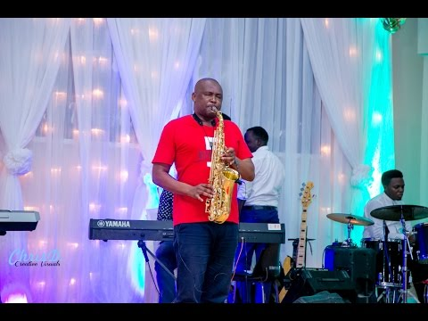 MISE ANAEL WORSHIPPING WITH SAXOPHONE AT THE HOMECOMING WORSHIP ENCOUNTER