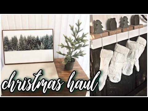 Christmas Decor Haul Part 2   Kirklands   Amazon   Kohls   Michaels