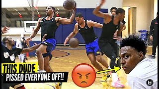 Check out this G-league player that randomly shows up to a private division 1 pick up run and nobody knew who he was, gets destroyed! lol  Jordan Stevens played for Midwestern State then tried out for the cleveland cavaliers at the NBA Summer League.  -------------------------------- Follow Us On Social! -------------------------------- INSTAGRAM: http://bit.ly/2jZYaAj Twitter: http://bit.ly/2jWBBdE Facebook: http://bit.ly/2kTRHW5 ------------------------------------------------- Check Out Our Other Channels: -------------------------------------------------  Main Channel: http://bit.ly/2jZTNWd BIL 2.0: http://bit.ly/2kiyjlY EastCoast Highlights: http://bit.ly/2ktrhNf WestCoast Highlights: http://bit.ly/2kiwPYD MidWest Highlights: http://bit.ly/2jWClPY The South Highlights: http://bit.ly/2jWVQrp ------------------------------------------------------------------------------------------------- If You Love Our Content, You'll Love Our Brand, Shop With us: ------------------------------------------------------------------------------------------------- Shop: http://bit.ly/2jxxecU