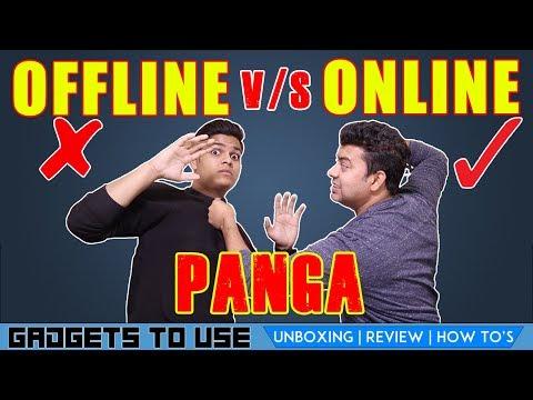 Offline Shop VS Online Flipkart, Amazon Ki Jung, Find Out Who Wins Ft. Prince Chandra