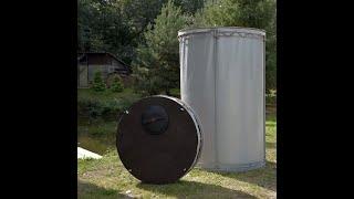Резервуар  разборный вертикальный