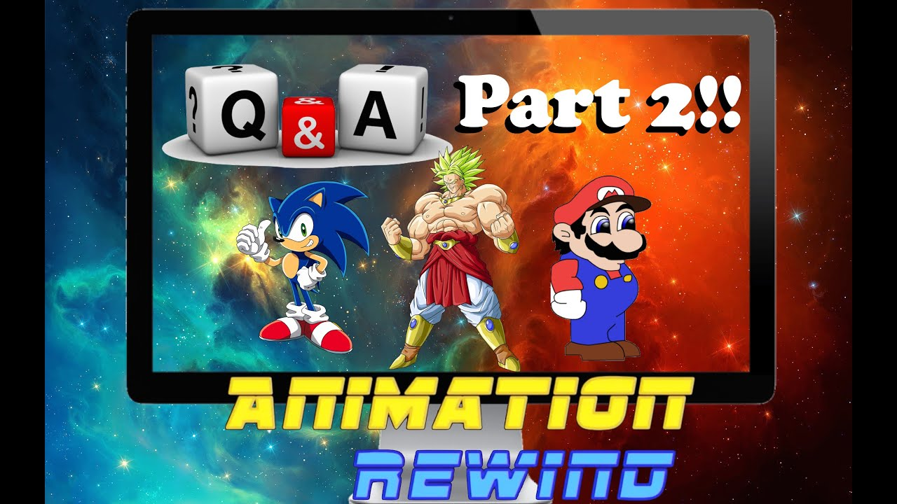 ANSWERS!!! AnimationRewind/Cartoon Fight Club Q&A Part 2!!