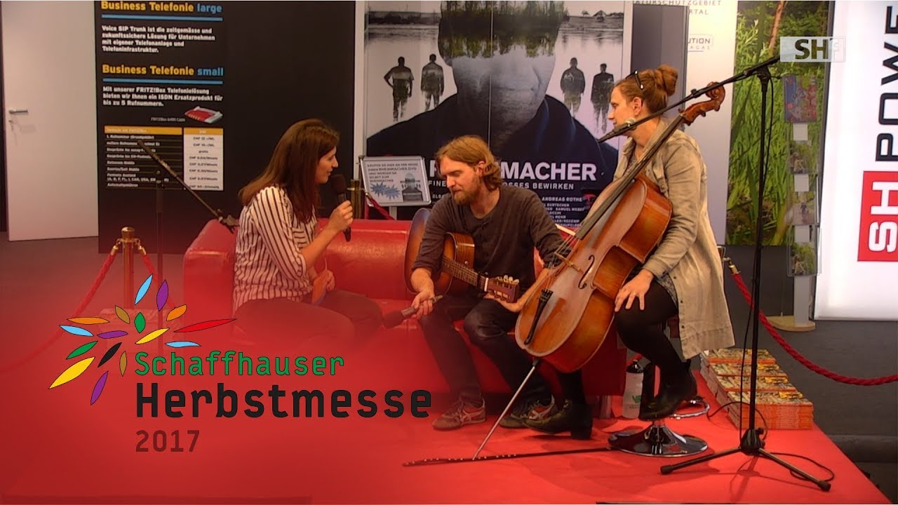 Herbstmesse 17 Famous October Zu Gast Auf Dem Roten Sofa Youtube