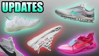 Off White ZOOM FLY Release Date | Off White Air Max 97 Menta | ZEBRA 350 | Sneaker Updates 10