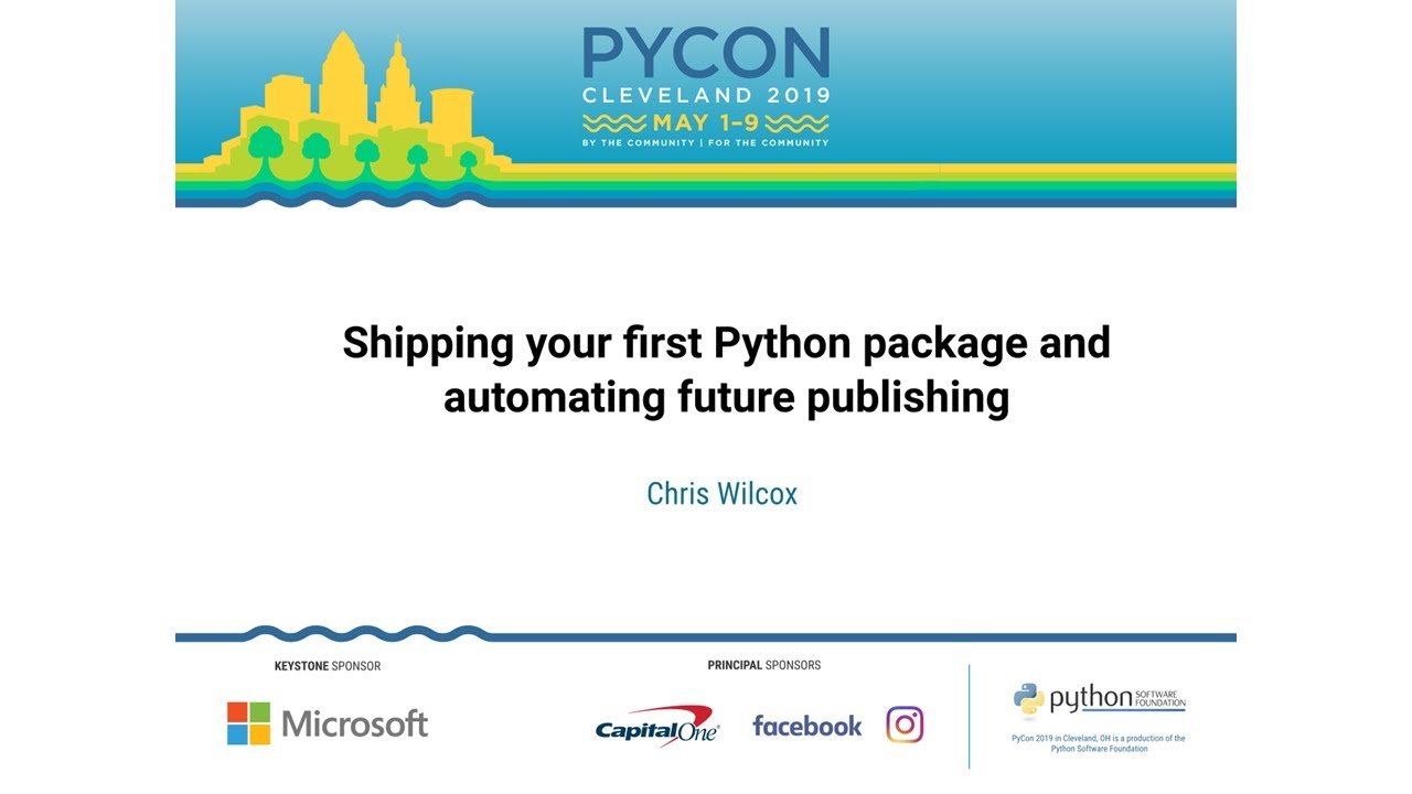 Image from Shipping your first Python package and automating future publishing