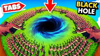 Creating A BLACK HOLE With NEW GOD POWERS In TABS (Totally Accurate Battle Simulator Gameplay)