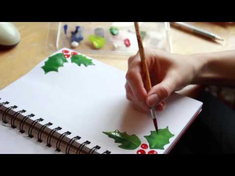 DIY How to make your own Letter Paper - Holiday Special
