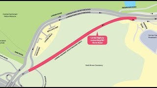 Travel Route from Braddell Road to Lornie Highway
