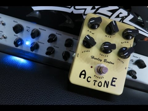 Harley Benton (Joyo) AC Tone TrueTone Pedal Demo