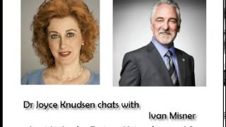 Dr Joyce chats with Ivan Misner about his book Networking and Sex