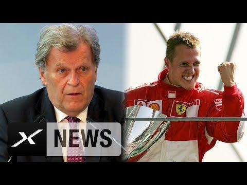 Norbert Haug mit emotionaler Laudatio über Michael Schumacher | Formel 1 | Motorsport