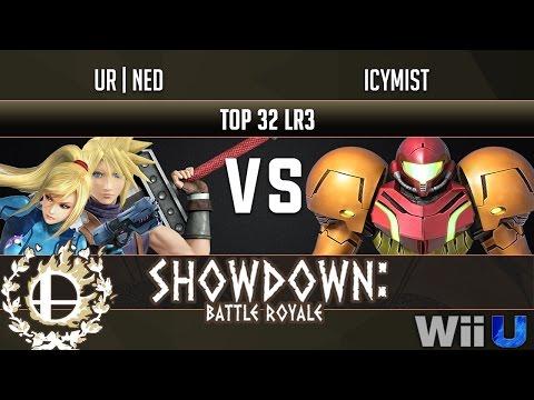 Showdown: UR|Ned (ZSS/Cloud) vs Icymist (Samus)