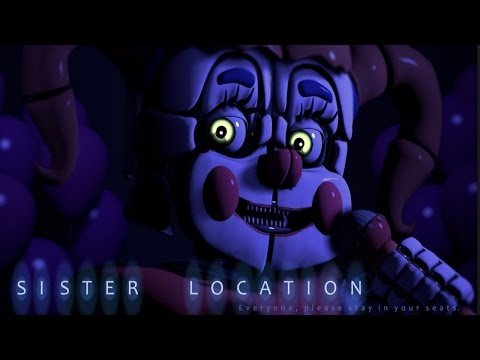 Five Nights at Freddy's: Sister Location | FNAF 5: Sister Location SECRETS and Jump Scares!
