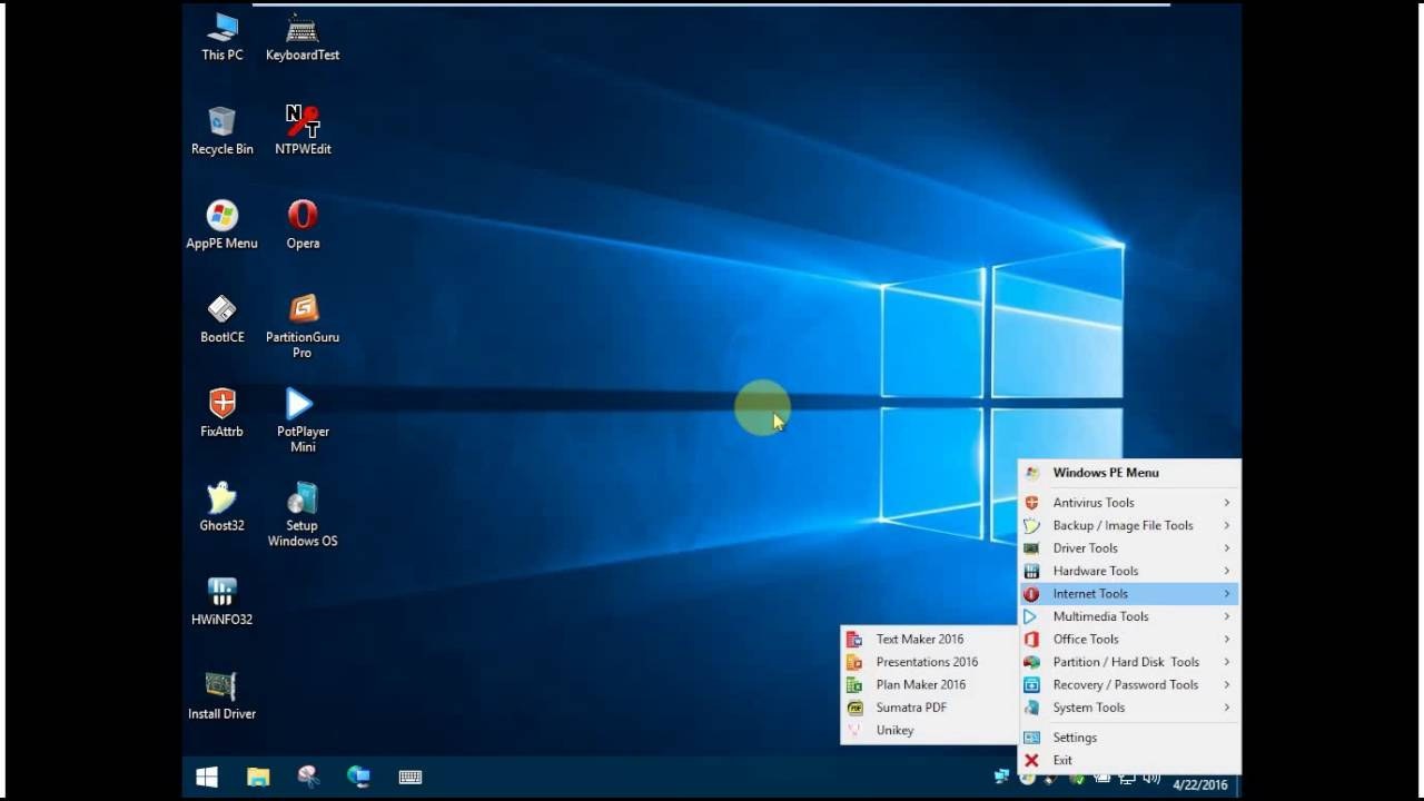 Win Aio Setup In Win 10 Pe Youtube