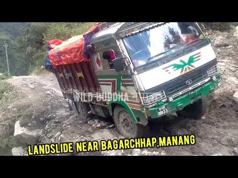 Download The Risky Off-road Journey of Truck Drivers to Manang    Besisahar Manang Sadak In Monsoon Season