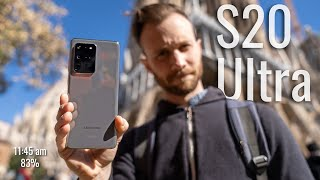 Samsung Galaxy S20 Ultra Real-World Test (Camera & Battery Test)
