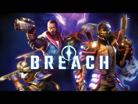 Breach - #1 - Demon Hunters (4 Player Alpha Gameplay)