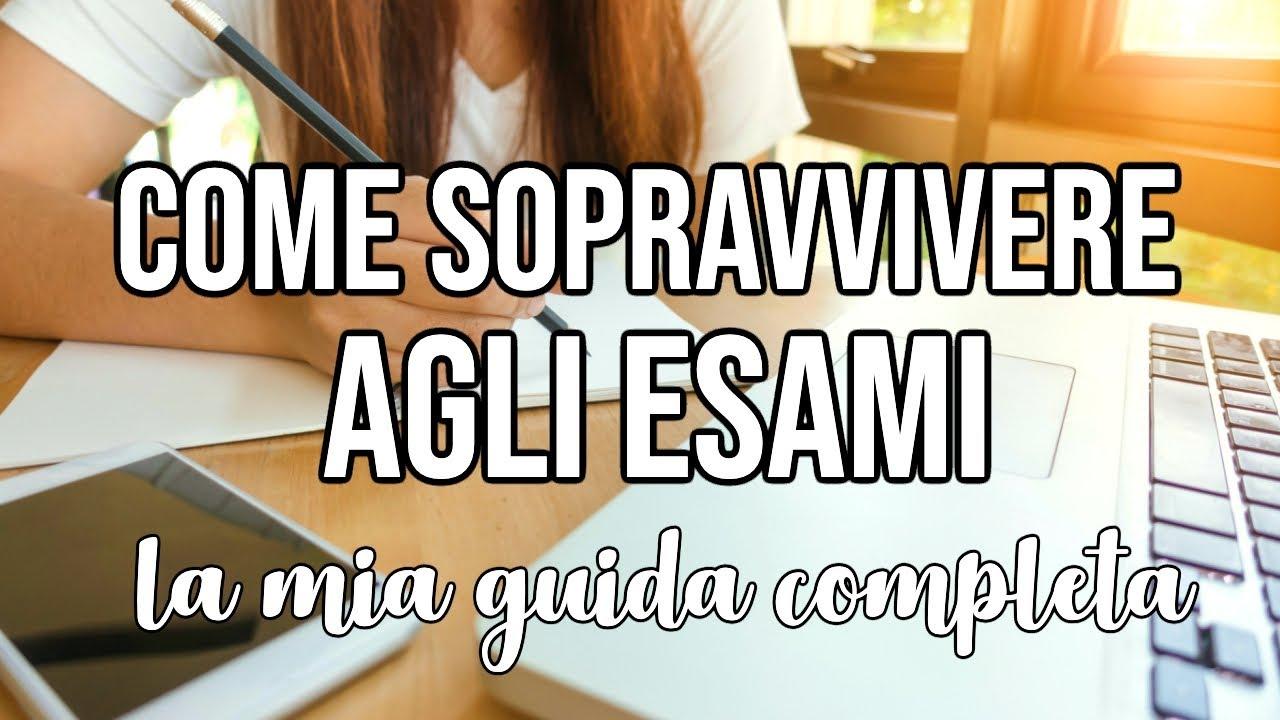 COME SOPRAVVIVERE AGLI ESAMI 😩📚 LA MIA GUIDA COMPLETA!