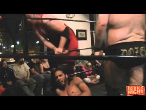 RWA Devils Night 2014 - Crankin Amazing vs Chris Dozer & David Baker