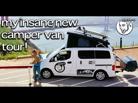 Dan Joyce - Steve-O Shows Off His Brand New Camper Van