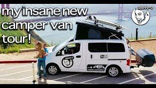 My Insane New Camper Van Tour with Bam Margera! | Wild Rides | Steve-O