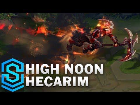 High Noon Hecarim Skin Spotlight - League of Legends