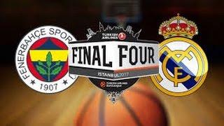 Fenerbahçe - Real Madrid Maç Özeti BasketBol 19.04.2017