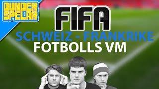 Fotbolls VM: Schweiz - Frankrike (FIFA14)