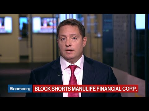 Carson Block Cites Lawsuit Risks In Short Of Manulife Financial
