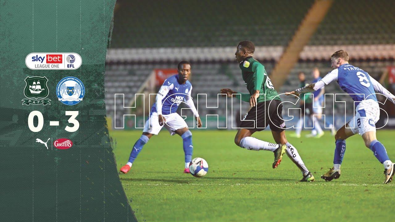 Плимут Аргайл  0-3  Питерборо Юнайтед видео