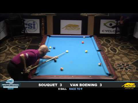2014 CSI 8 Ball Invitational: Van Boening vs Souquet