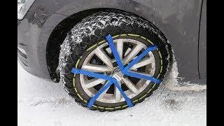 Essais chaînes à neige Michelin Easy Grip Evolution - 4Legend.com